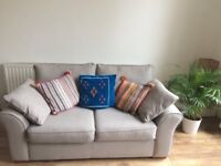 Grey two-seater sofa from Next. Very comfortable and in excellent condition!