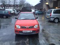 Nissan Micra 1litre 2000