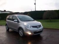 2009 NISSAN NOTE ACENTA 65000 GENUINE MILES