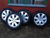 Ford 16 inch/5 stud, 205/55/16tyres (focus/c-max/ connect)wheels 205/55/16 tyres !