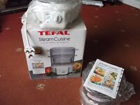 Tefal Steam Cuisine ,brand new never been used in box