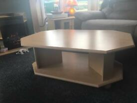 Heavy Coffee Table And TV Unit