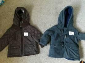 Boys 6-9 months coats