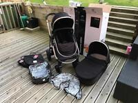 Icandy strawberry 1 travel system push chair carry cot