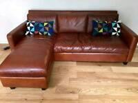 Leather Sofa 'Chester' (Habitat)