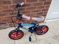 Small Spiderman Bike
