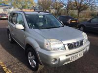 AUTOMATIC Nissan X Trail 2.5 i SVE 5dr SUV 2005 WITH LOW MILE AND FULL MOT