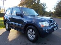 2006 56 Mitsubishi shogun 3.2 DI-D EQUIPPE 3 DOOR SWB VERY CLEAN