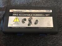Dumbbell Adjustable 20kg Set