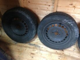 I have for sale 2 continental winter tyres 185/60x15