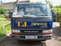 Mitsubishi Canter 35 Recovery/Plant Truck - Spares, Repairs, Scrap