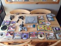Ps1 PlayStation 1 Console Bundle Controller And Games