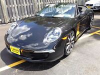 2013 Porsche 911 4S Automatic, Navigation, Leather, Convertible