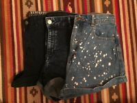 Denim shorts - Bundle of 3. Size 10