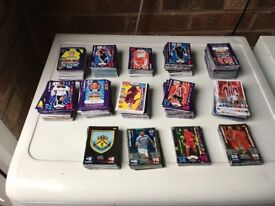 Large match attax collection