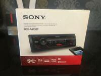 New Sony DSX-A410BT Car Stereo Bluetooth