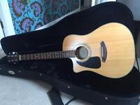 Fender 100CELH semi acoustic left handed
