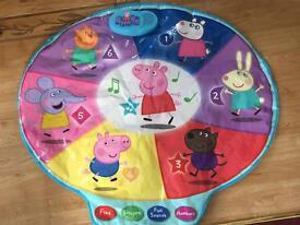 Peppa pig play mat