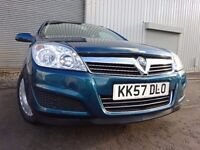 💥08 VAUXHALL ASTRA 1.6 ESTATE AUTOMATIC,MOT OCT 017,2 OWNERS 2 KEYS,PART HISTORY,VERY LOW MILEAGE