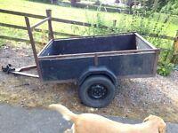 6x4 ladder rack car trailer, excellent condition