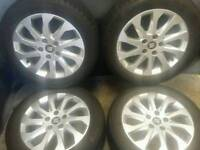 16 inch 5x112 genuine Seat Leon alloy wheels
