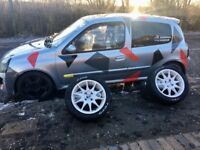 ** CLIO 172 **HIGHLY MODIFIED** RALLY/TRACK/SPRINTS** 1 YEARS MOT LOADS OF EXTRAS INCLUDED**