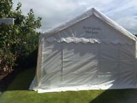 4x8M 100%PVC marquee with ground bar sets