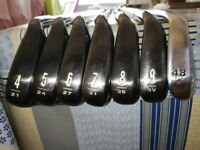 Cleveland CG16 Irons and Cleveland Golf Bag