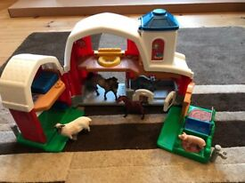 Fisher Price Little People farm toy with animals