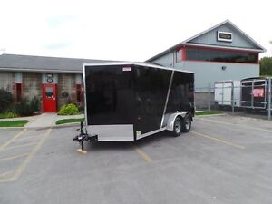 2016 Haulin HLAFT714TA2 7X14 TANDEM AXLE ENCLOSED TRAILER