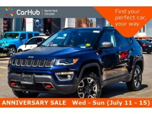 2018 Jeep Compass New Car Trailhawk 4x4|ColdWthr,Safety&Sec.,Adv