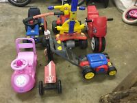 Garage Clearout Toys