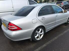 image for Mercedes C200 1.8 Comp SE Automatic Avanguard  Leather Seats Full History Good Runner £1250