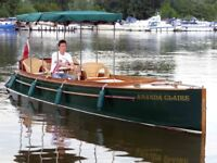 Sapphire Beaver tail stern open Launch - with road Trailer for sale in Oxfordshire