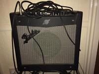 """Fender mustang I guitar amplifier amp like new 1x8""""is"""
