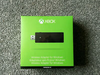 New Microsoft Xbox Wireless Controller Adapter Receiver for Windows 10 Xbox One