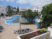 Tenerife, Fairways Club, Amerilla Golf. 1 Bed apartment overlooking heated pool, from £285 per week