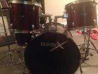 5 piece drum set great for beginners