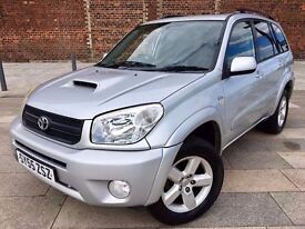 2005 RAV 4 DIESEL ++ ALLOYS ++ ELECTRIC WINDOWS ++ CD ++ JANUARY MOT.