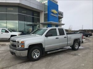 2014 Chevrolet Silverado 1500 2WT - Double Cab - One Owner