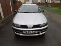 2004 Mitsubishi Carisma, 1 previous owner - £450 ono