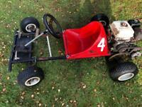 RESERVED Go-Kart Stratos Grass Petrol 5.5hp gx160 Honda engine 40-50mph
