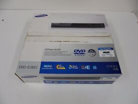 NEW Samsung E360 dvd player with USB and remote