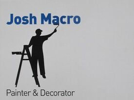 Josh macro painter and decorator with over 12 years experience i am reliable friendly and tidy.