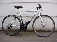 Mens Hybrid/ Commuter Bike by Teman, Black & White JUST SERVICED/ CHEAP PRICE!!!!!!!!!