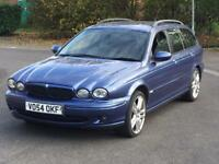 2005 JAGUAR X TYPE 2.0D SPORT ESTATE SAME OWNER SINCE 2009 2 KEYS X-TYPE S TYPE