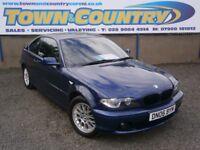 ***2006 BMW 3 Series 318CI ES **ONLY 63k!!!**MOT JUNE 2018**COUPE**( 320 golf ST gti 350z )