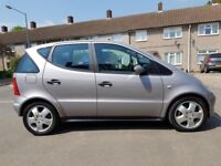 MERCEDES-BENZ A CLASS 190 AUTOMATIC, ONE YEAR MOT VERY RELIABLE LOW MILES 53000