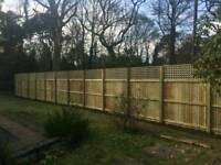 Fencing and general garden maintenance