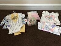 6 to 9 months girls new clothes bundle.